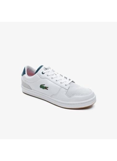 Lacoste Erkek Masters Cup 120 1 Sma Sneakers 739SMA0097.1R5 Beyaz